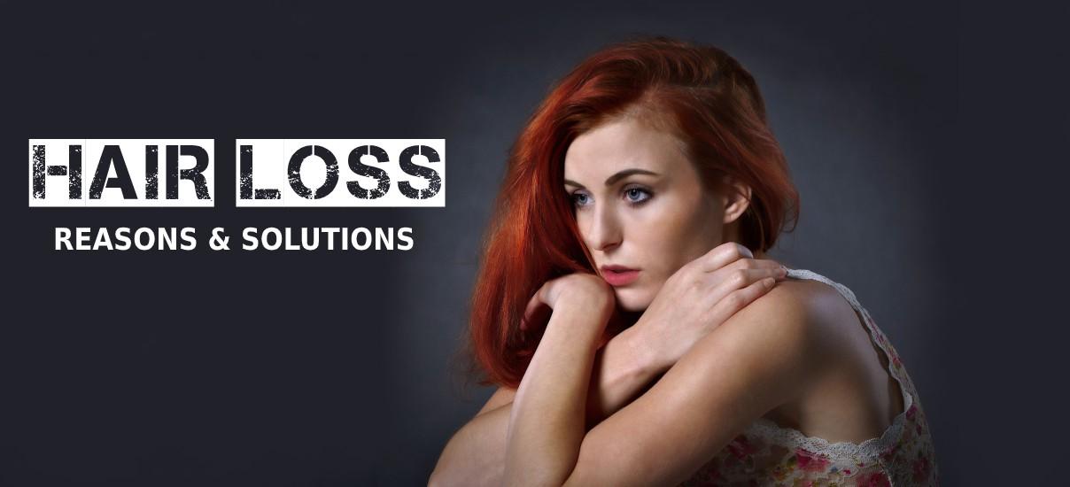 Hair Loss, Reasons, Solutions & Use of Human Hair Wigs